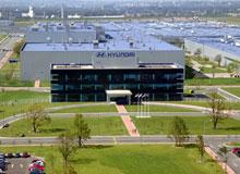 Автомобильный завод Hyundai в Санкт-Петербурге