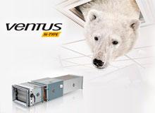 Новая уникальная цена на канальные вентиляционные агрегаты VENTUS N-type.