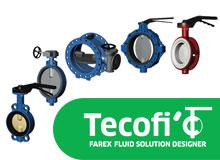 Французская запорная арматура для промышленных предприятий от компании Tecofi.