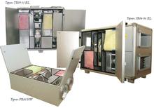 Topvex FR — Агрегаты с электрическим нагревателем и роторным рекуператором