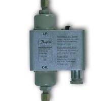 Дифференциальное реле давления (реле контроля смазки) типа MP