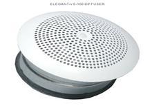 Elegant VI, VS. Приточный диффузор Systemair для настенного монтажа