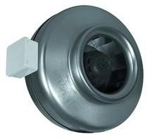 K, K EC — Вентиляторы для монтажа в воздуховоде