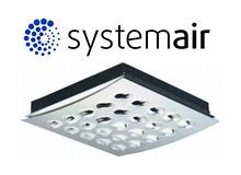 Компания Systemair выпустила новый сопловый диффузор марки Sinus-A-250-L ceiling diffuser