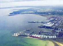 Порт Усть Луга (Санкт-Петербург).